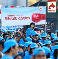 NAFFCO Participates in Beat Diabetes Walkathon