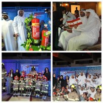 NAFFCO with Dubai Civil Defense launched the SAFER RAMADAN Campaign in Heritage Village