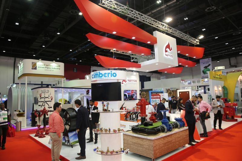 Exhibition Stand Suppliers Uk : Naffco is at the big international building