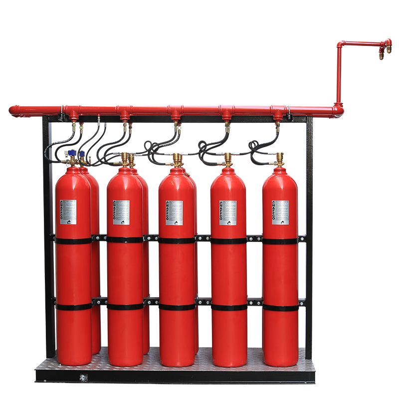 Co2 System Co2 Fire Suppression System Naffco Nfzco