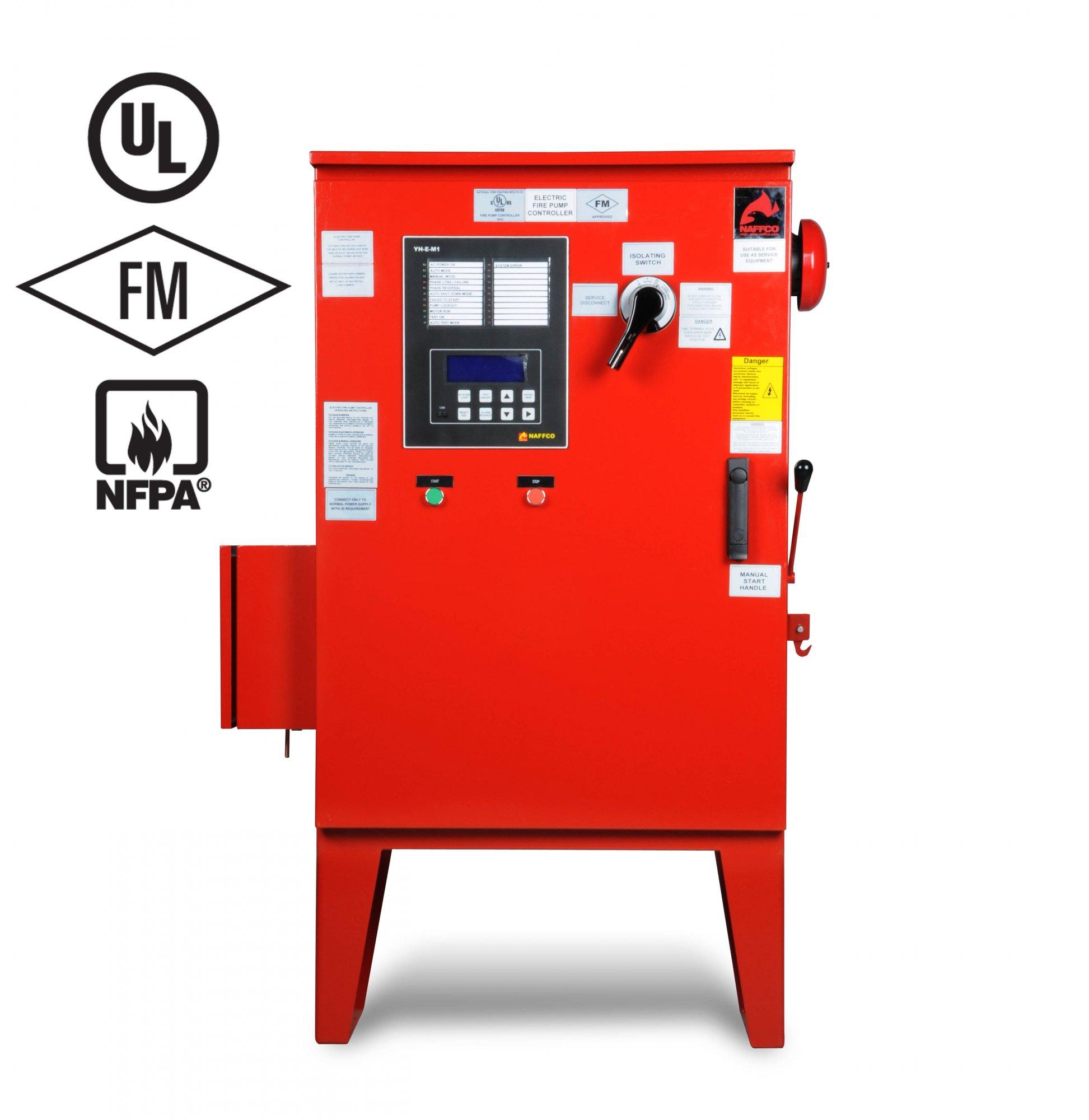 WRG-5168] Fire Pump Controller Wiring Diagram