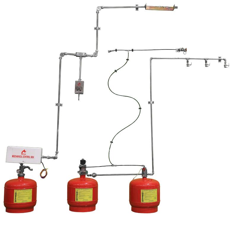 Pre Engineered Kitchen Suppression System