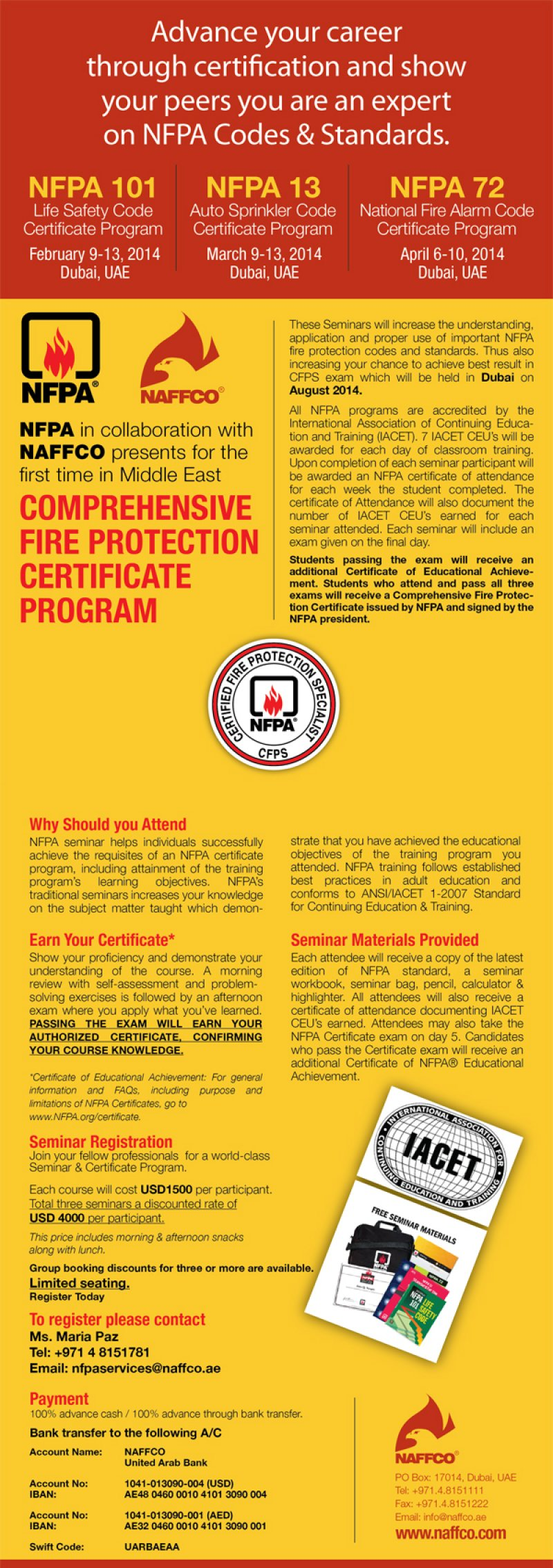 Collaborates with nfpa to provide comprehensive fire protection naffco collaborates with nfpa to provide comprehensive fire protection certificate program xflitez Image collections