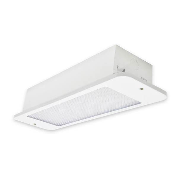 Recessed Mount Addressable Emergency Light
