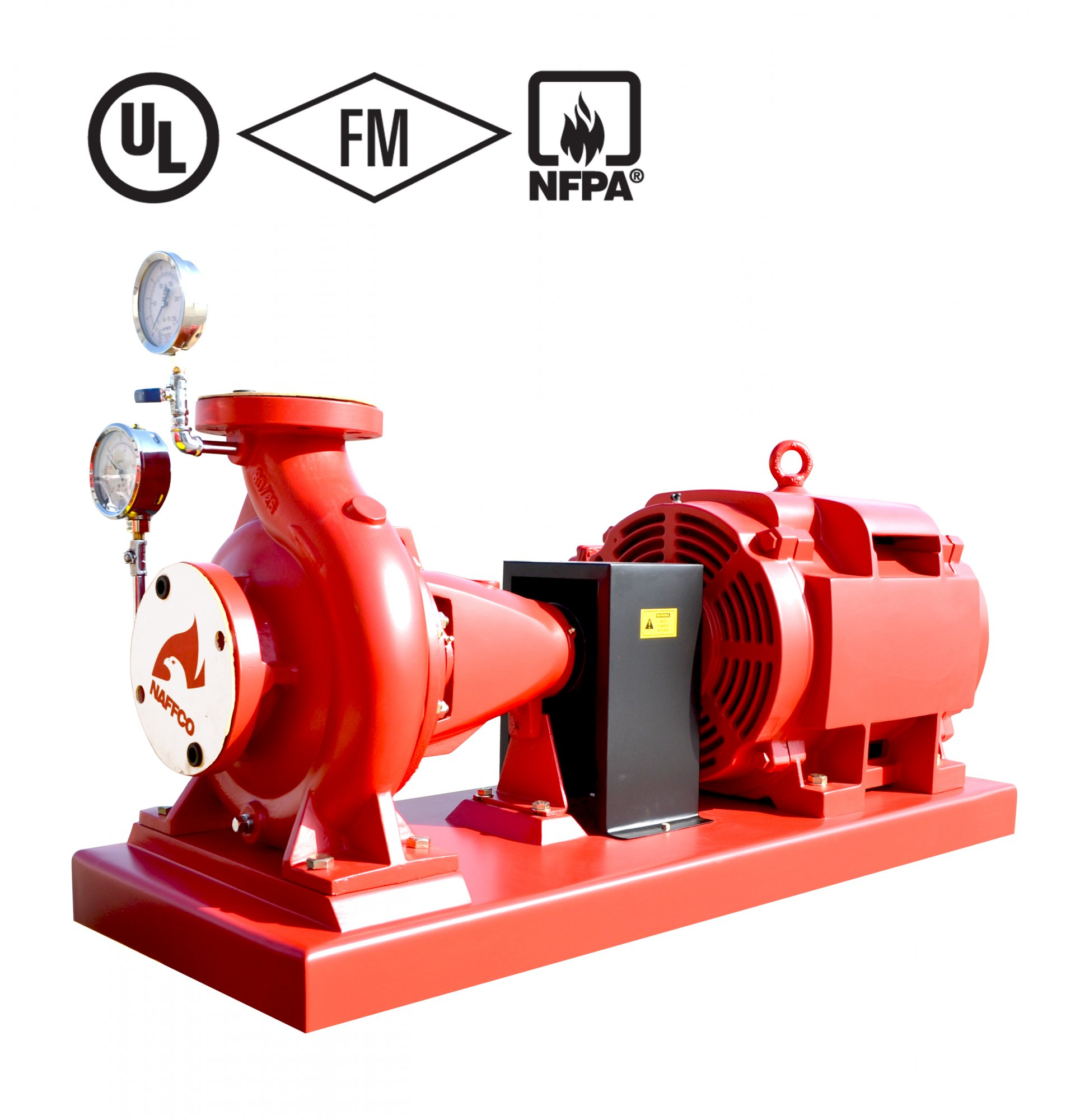 Certified End Suction Fire Pump - Naffco