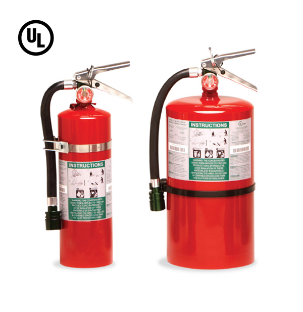 Portable Fire Suppression Equipment : Portable clean agent fire extinguishers ul listed