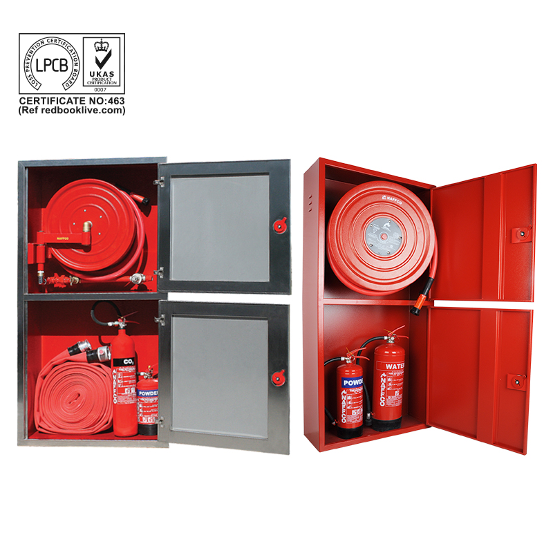 Fire Hose Reel Cabinets & Breeching Inlet Cabinets | NAFFCO FZCO