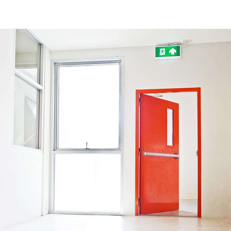 interior fire rated doors bespoke range of steel doors naffco fzco. Black Bedroom Furniture Sets. Home Design Ideas