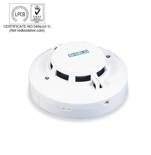 D tecteur de chaleur et de fum e combin d a410 for Detecteur de chaleur