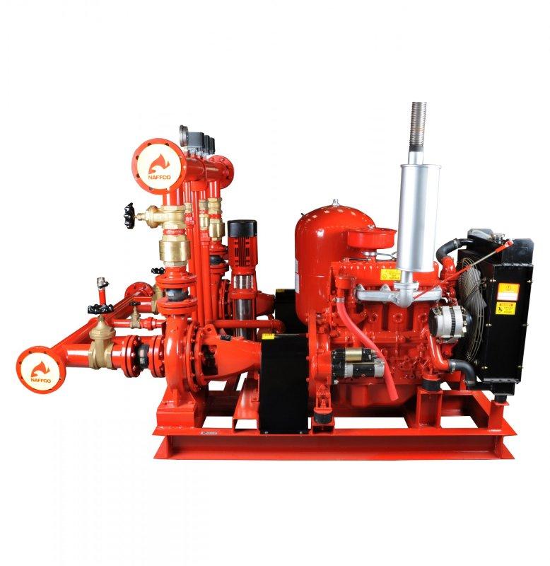 Fire Pumps Manufacturers in Dubai UAE | NPS Series Fire Pump Set