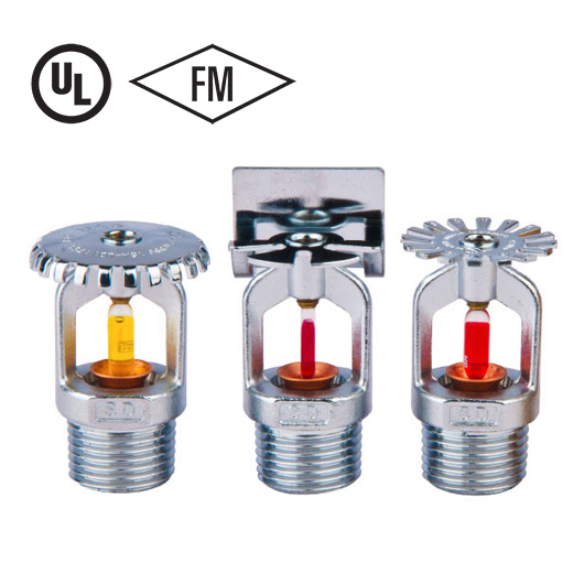 Fire Sprinkler Head Types   Certified Products   NAFFCO FZCO