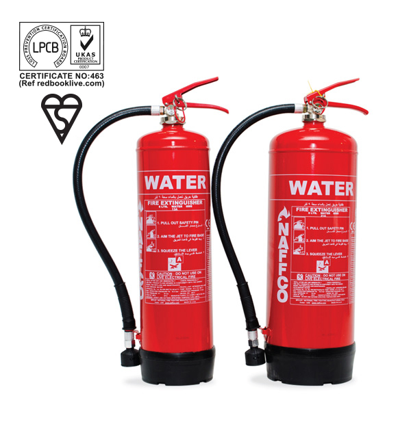 Portable Fire Suppression Equipment : Portable water fire extinguishers bsi lpcb approved