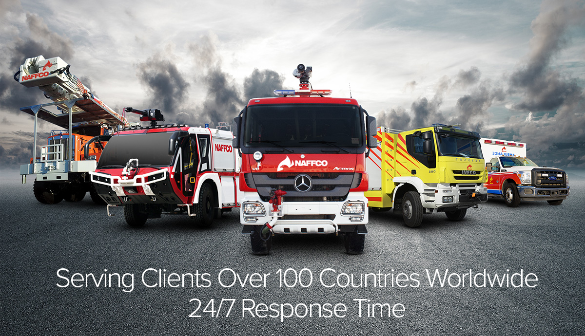 Fire Trucks, Ambulance Maintenance and Spare Parts Support